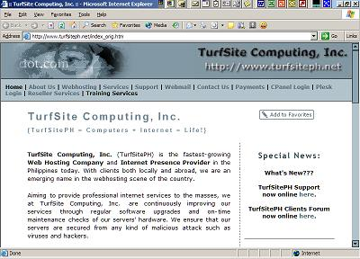 TurfSite Computing, Inc.
